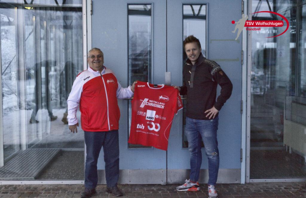 Wolfgang Stoll und Steffen Klett